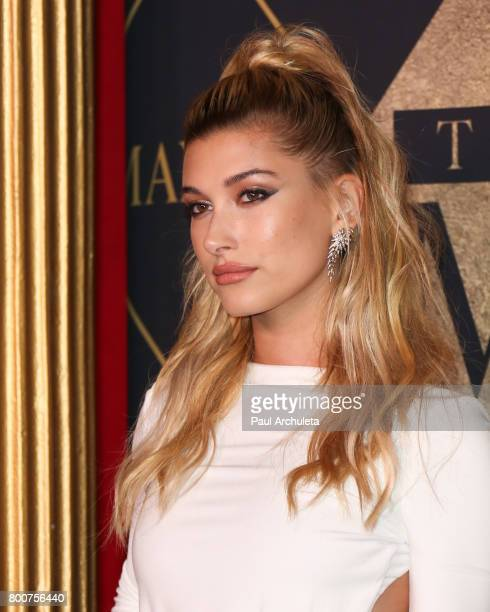 Fashion Model Hailey Baldwin attends the 2017 MAXIM Hot 100 Party at The Hollywood Palladium on June 24 2017 in Los Angeles California