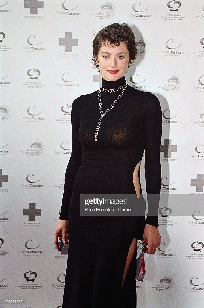Model Honor Fraser Attending Gala : News Photo
