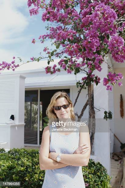 Fashion model India Hicks Harbour Island Bahamas 1997