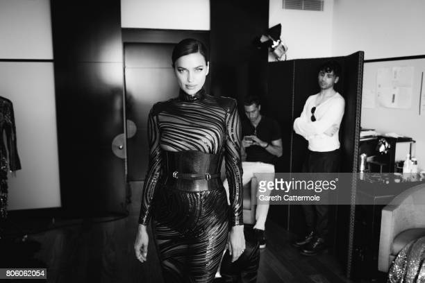 Fashion model Irina Shayk is photographed in Cannes France on May 24 2017
