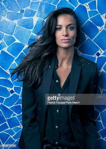 Fashion model Jade Lagardere is photographed for Paris Match on June 6 2017 in Paris France
