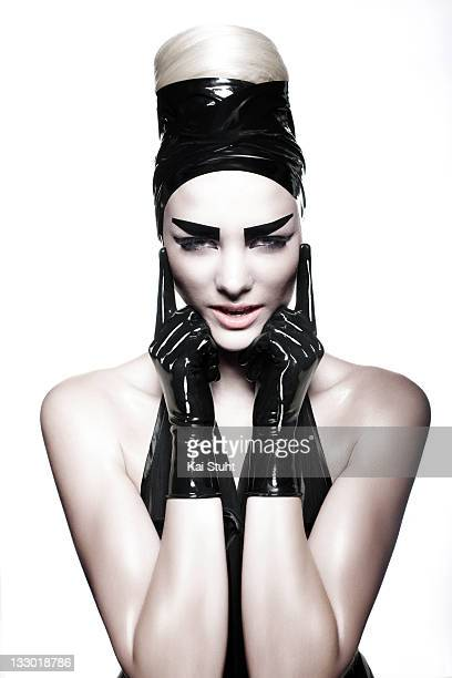 Fashion model Jennifer Hof is photographed on June 13, 2008 in London, England.