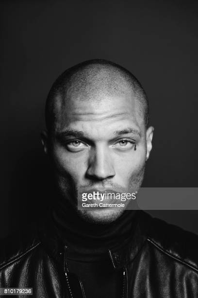 Fashion model Jeremy Meeks is photographed in Cannes France on May 25 2017
