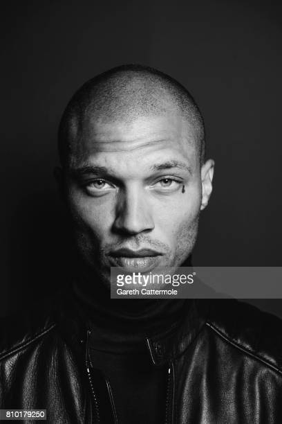 Fashion model Jeremy Meeks is photographed in Cannes, France on May 25, 2017.