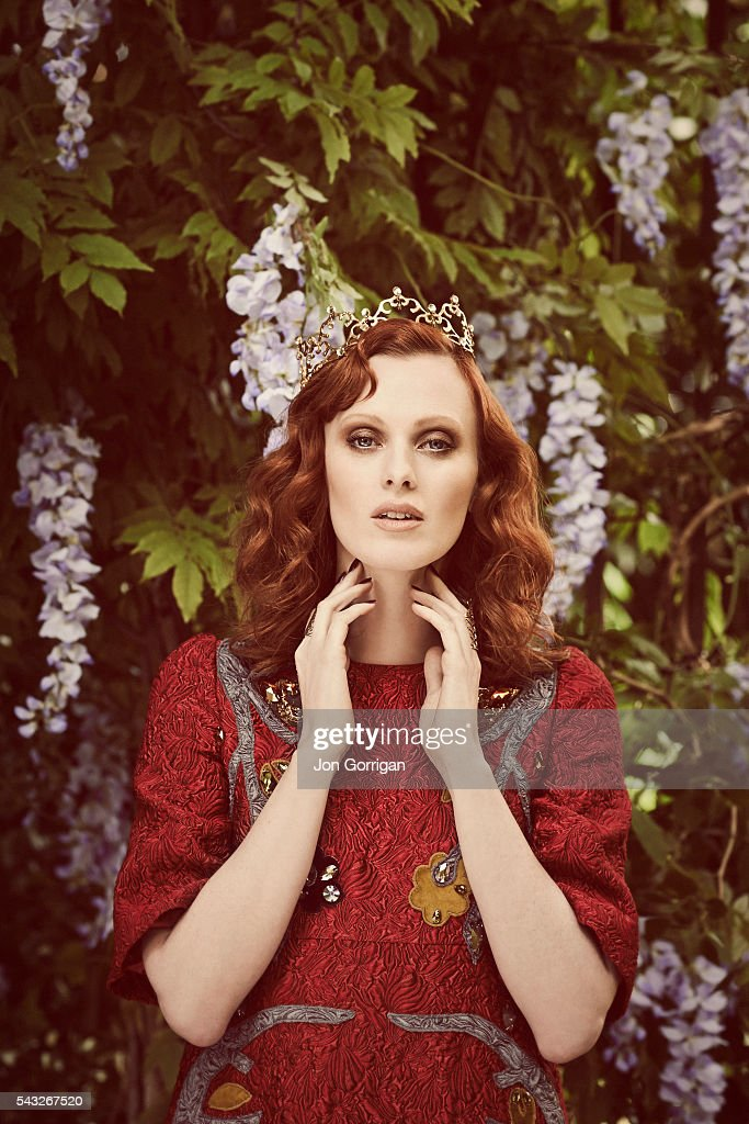 Karen Elson, Stylist UK, September 12, 2014