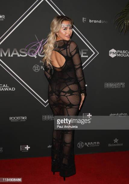 Fashion Model Khloe Terae attends Karma International's 11th Annual Kandy Masquerade on March 09 2019 in Los Angeles California