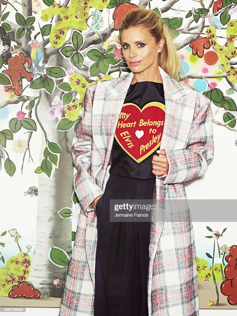 Fashion model Laura Bailey is photographed for Vogue magazine on August 20, 2013 in London, England.