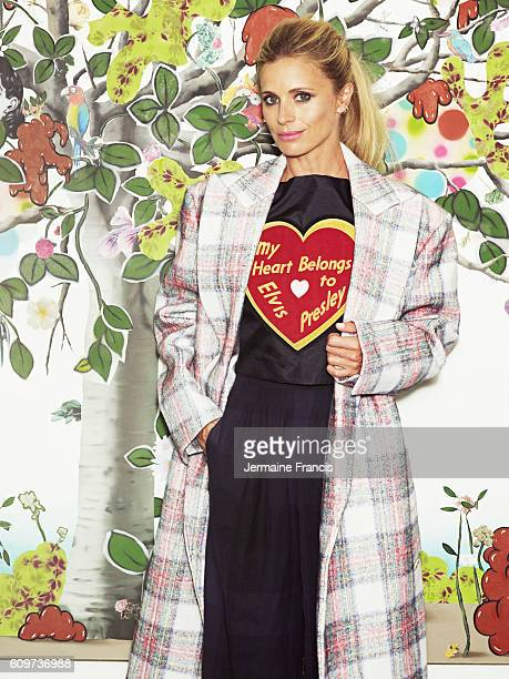 Fashion model Laura Bailey is photographed for Vogue magazine on August 20 2013 in London England