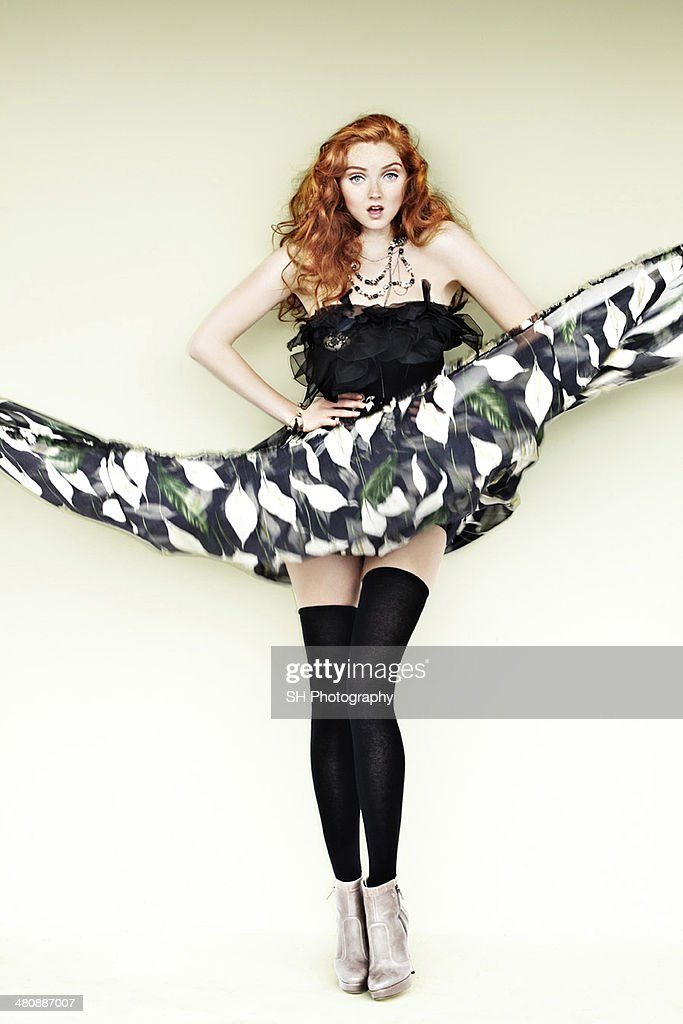 Lily Cole,  Vanidad magazine Spain, October 1, 2010