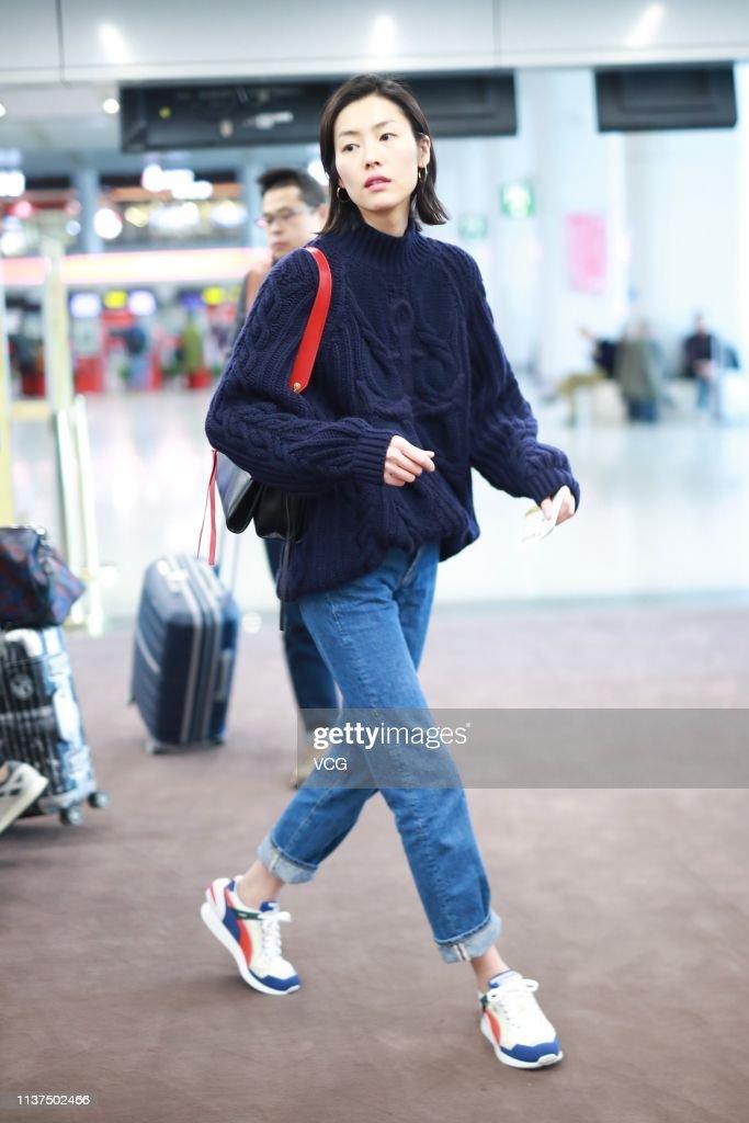 CHN: Liu Wen Sightings In Beijing