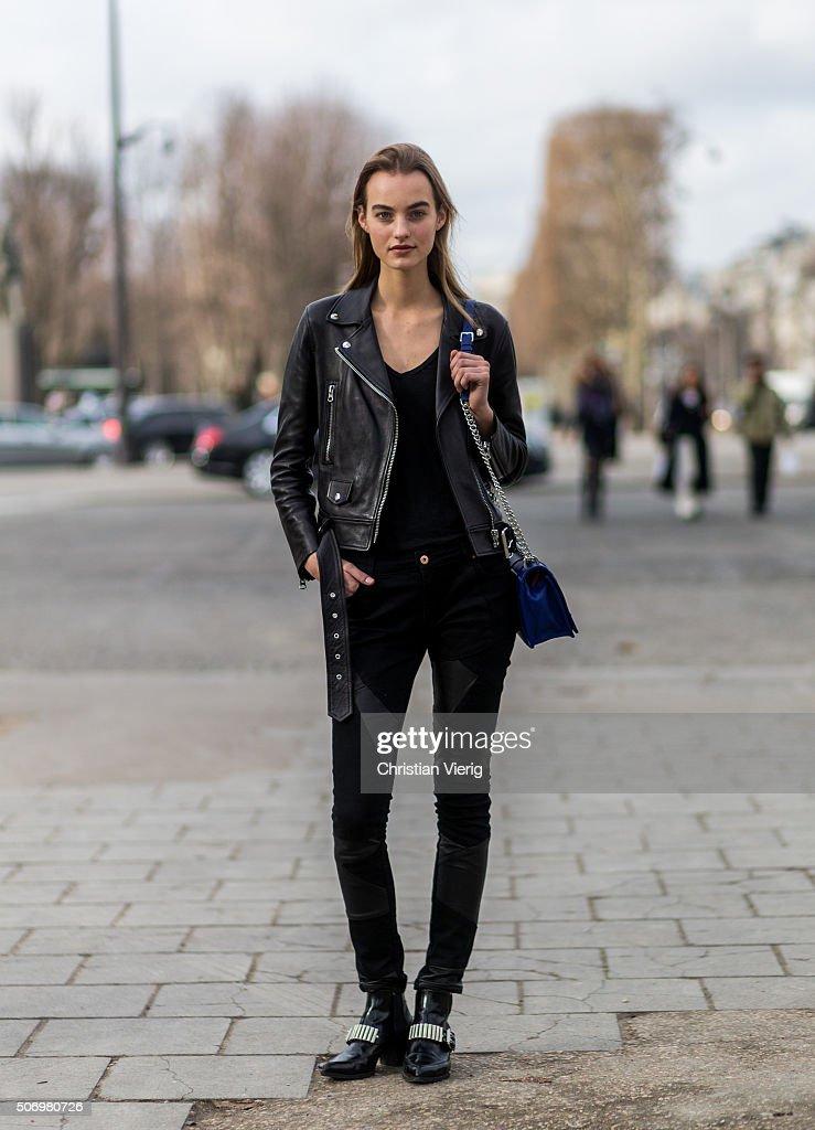 Street Style : Paris Fashion Week -Haute Couture- Spring/Summer 2016  : Day Three
