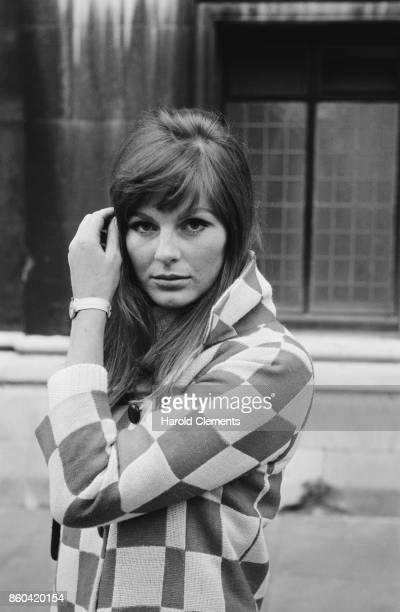 Fashion model Paulene Stone UK 4th March 1967