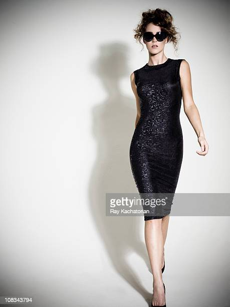 fashion model - lace dress stock pictures, royalty-free photos & images