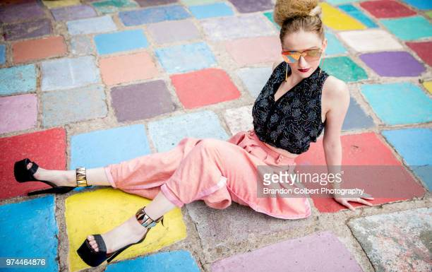 fashion model - funky stock pictures, royalty-free photos & images
