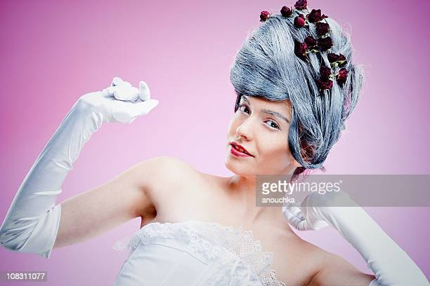 fashion model posing - formal glove stock pictures, royalty-free photos & images