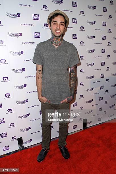 Fashion model Romeo Lacoste attends US premiere of Dragon Ball Z Resurrection 'F' at Regal Cinemas LA Live on July 2 2015 in Los Angeles California
