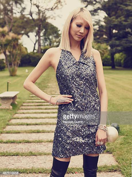 Fashion model Soo Joo Park is photographed on May 21 2015 in Cannes France