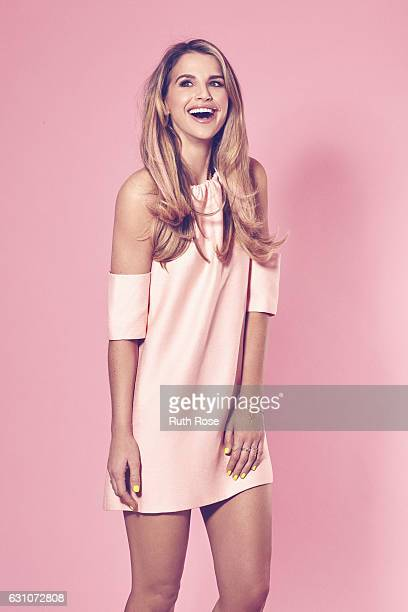 Fashion model television and radio personality Vogue Williams is photographed on April 4 2016 in London England