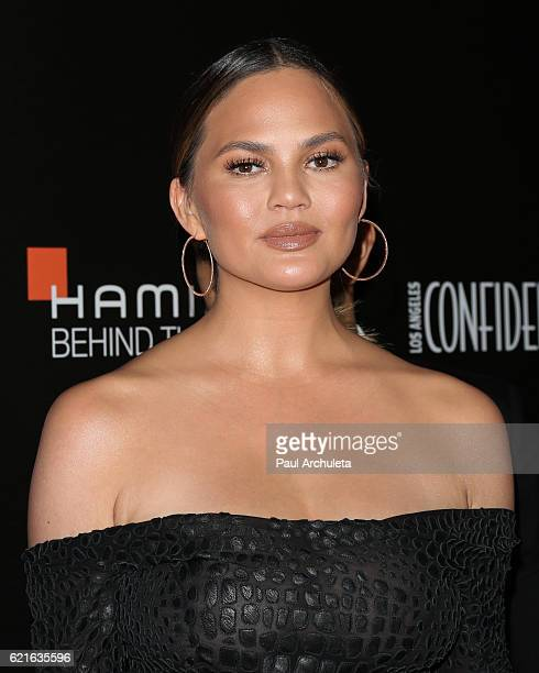 Fashion Model / TV Personality Chrissy Teigen attends the 9th Hamilton Behind The Camera Awards at The Exchange LA on November 6 2016 in Los Angeles...
