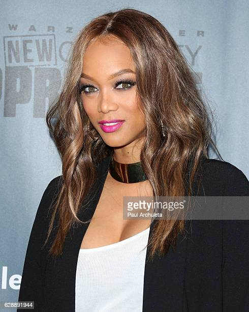 Tyra Banks Black And White: Tyra Banks Stock Photos And Pictures