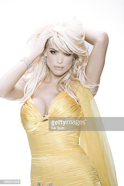 Fashion model Victoria Silvstedt is photographed on May 24 2007 in MonteCarlo Monaco