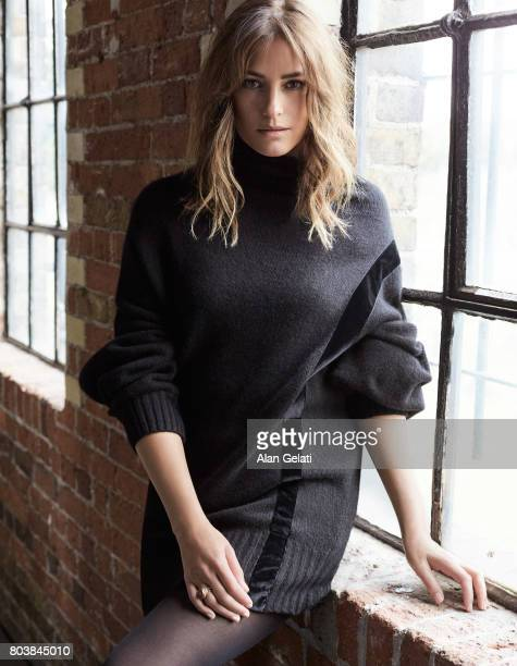Fashion model Yasmin LeBon is photographed for You magazine on August 1 2016 in London England