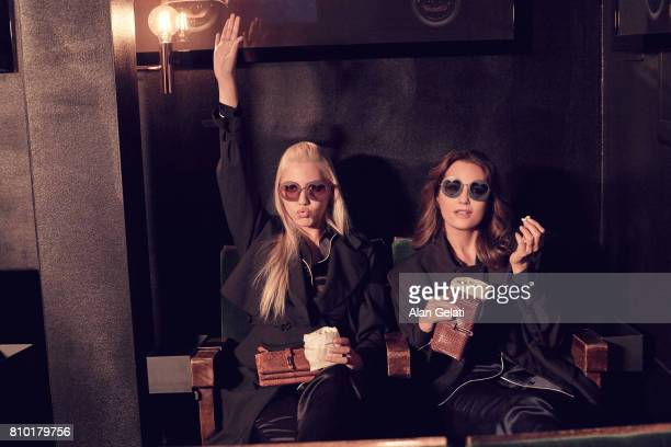 JANUARY 19 Fashion model Yasmin LeBon with her daughter Amber LeBon are photographed for Vanity Fair on January 19 2017 in London England Photo by...