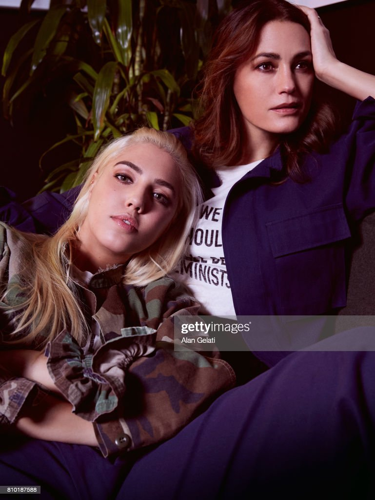 Amber & Yasmin LeBon, Vanity Fair Italy, March 1, 2017