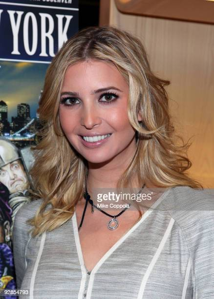 Fashion modelbusinesswoman Ivanka Trump pattends 'The Kingdom of New York' book launch party at Longchamp on November 5 2009 in New York City