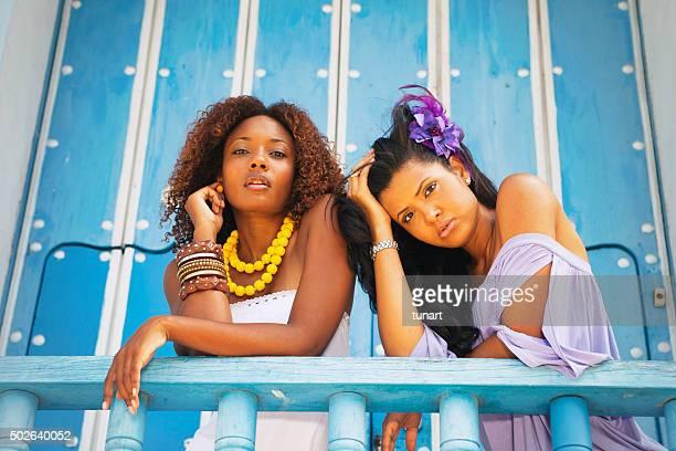 Les mannequins de Trinité et de Cuba