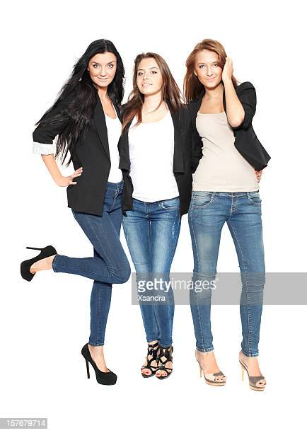 fashion models - skinny pants stock pictures, royalty-free photos & images