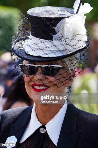 Fashion on day 3 of Royal Ascot at Ascot Racecourse on June 21 2018 in Ascot England