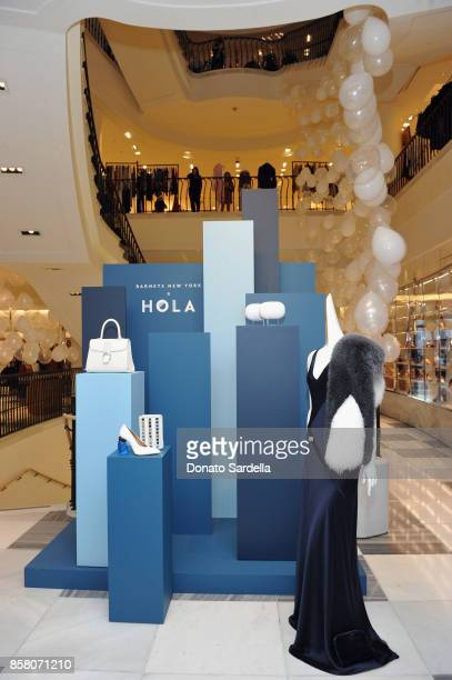 Fashion on display at a Cocktail Event in support of HOLA Heart of Los Angeles hosted by Barneys New York at Barneys New York Beverly Hills on...