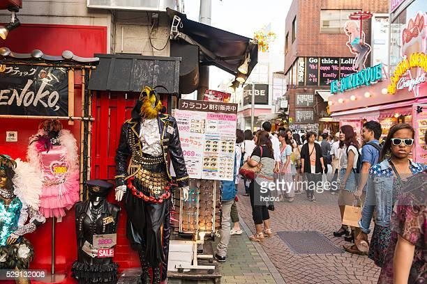 Moda en Harajuku en tokio
