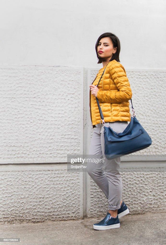 Fashion On The Go : Stock Photo