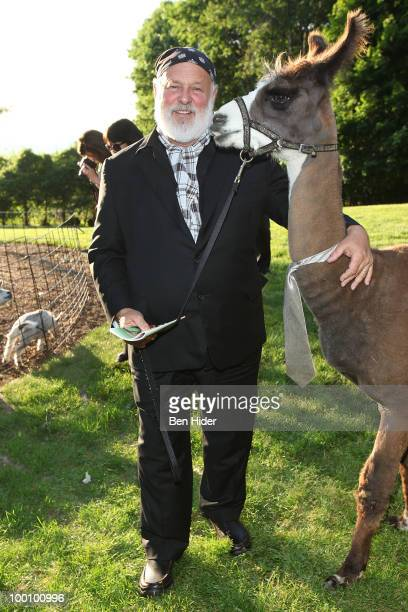 Fashion photographer Bruce Weber attends the Green Chimneys Annual Spring Gala at Tappan Hill Mansion on May 20 2010 in Tarrytown New York