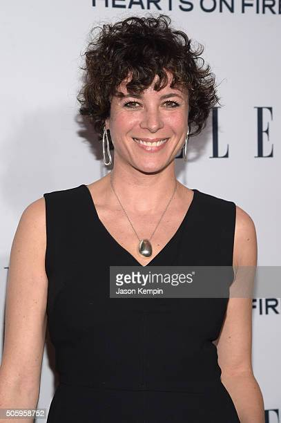 Fashion Photographer Garance Dore attends ELLE's 6th Annual Women in Television Dinner Presented by Hearts on Fire Diamonds and Olay at Sunset Tower...