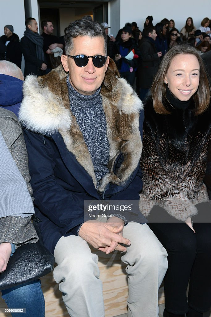 Fashion photographer, Mario Testino, attends the Lacoste Fall 2016 fashion show during New York Fashion Week at Spring Studios on February 13, 2016 in New York City.