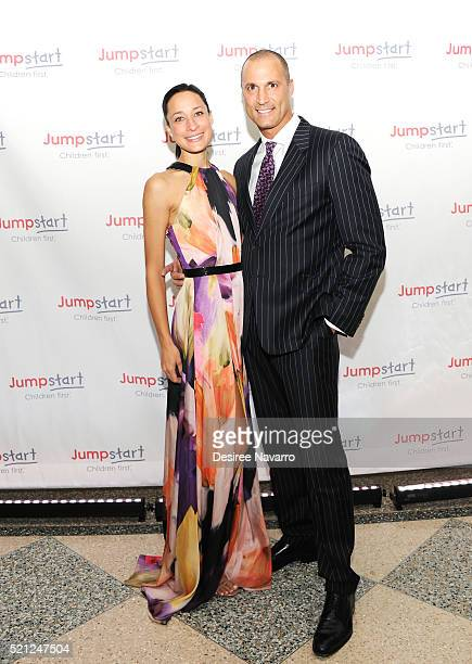 Fashion Photographer Nigel Barker and his wife Cristen Barker attend Jumpstart's 11th Annual Scribbles to Novels Gala at Pier Sixty at Chelsea Piers...