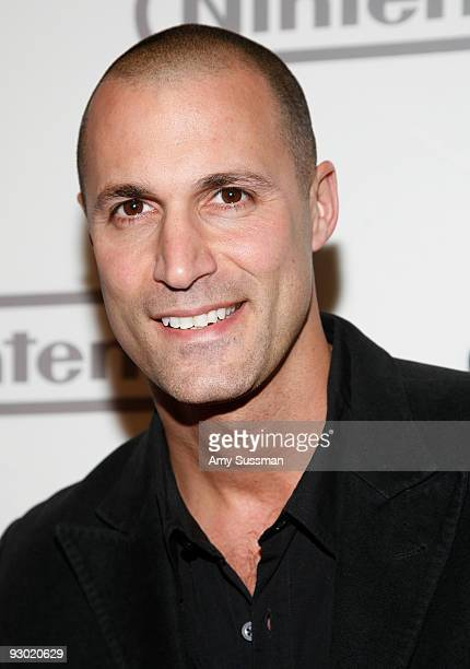 Fashion photographer Nigel Barker attends the 25 years of Mario celebration at the Nintendo World Store on November 12 2009 in New York City