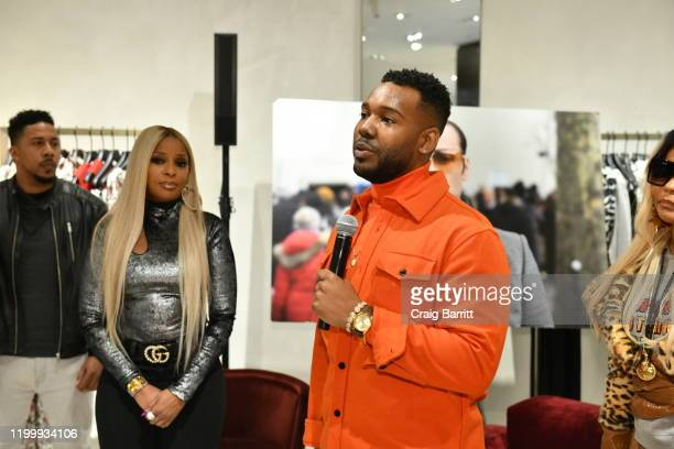 Fashion Photographer Robert Ector Hosts Details Book Signing And Meet Greet With Mary J Blige At Saks Fifth Avenue on February 09 2020 in New York...