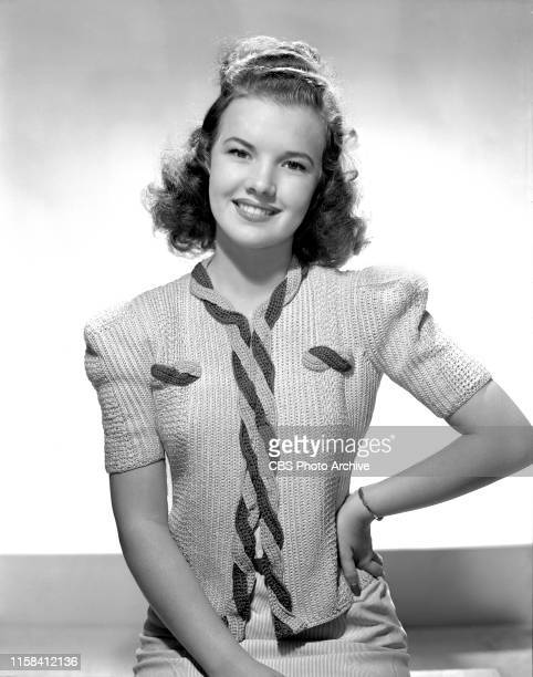 Fashion portrait of actress Gale Storm She was a finalist winner on the CBS Radio talent show and contest Gateway to Hollywood Her preHollywood given...