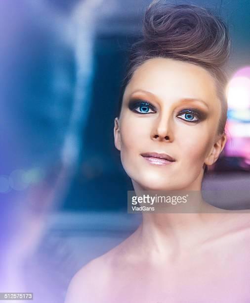moda retrato de mulher bonita - vlad models - fotografias e filmes do acervo