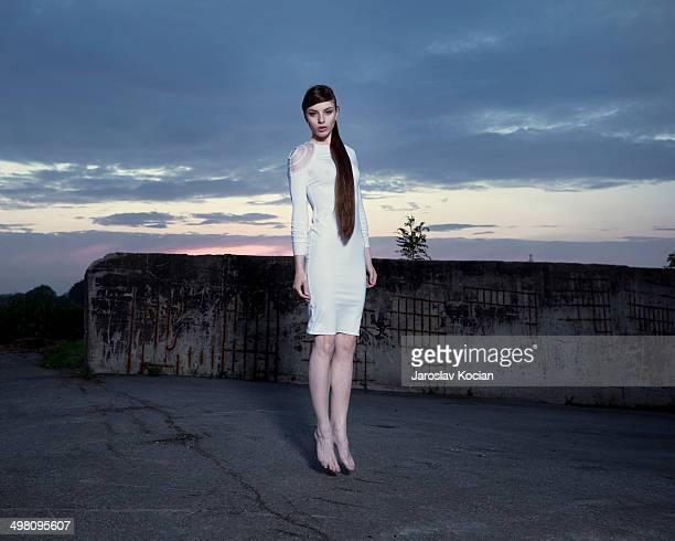 fashion portrait. - beautiful czech women stock photos and pictures