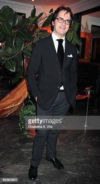 Fashion Producer Antonio Falanga attends '2009 Margutta Awards' at Margutta RistorArte on November 24 2009 in Rome Italy