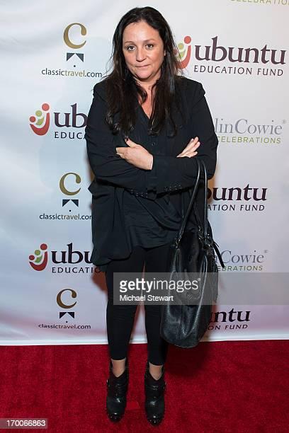 Fashion Publicist Kelly Cutrone attends Annual Ubuntu Education Fund NY Gala at Gotham Hall on June 6 2013 in New York City