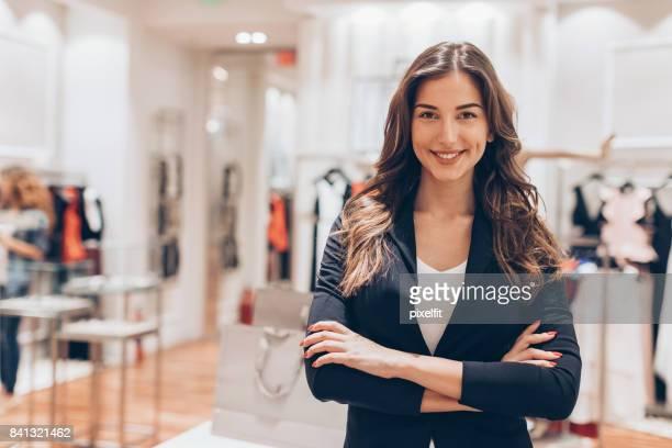 Mode-Einzelhandel-Besitzer