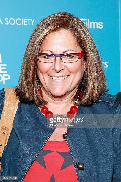 Fashion senior vice president Fern Mallis attends a screening of In The Loop hosted by the Cinema Society and the New Yorker at the IFC Center on...