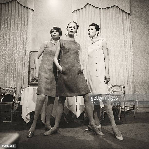 Fashion Show at WF Adlmueller Vienna 1967 Photograph by Barbara Pflaum