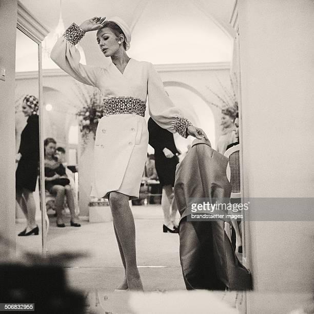 Fashion Show at WF Adlmueller Vienna 1969 Photograph by Barbara Pflaum